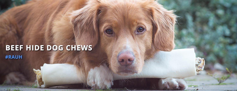 Beef Hide Dog Chews